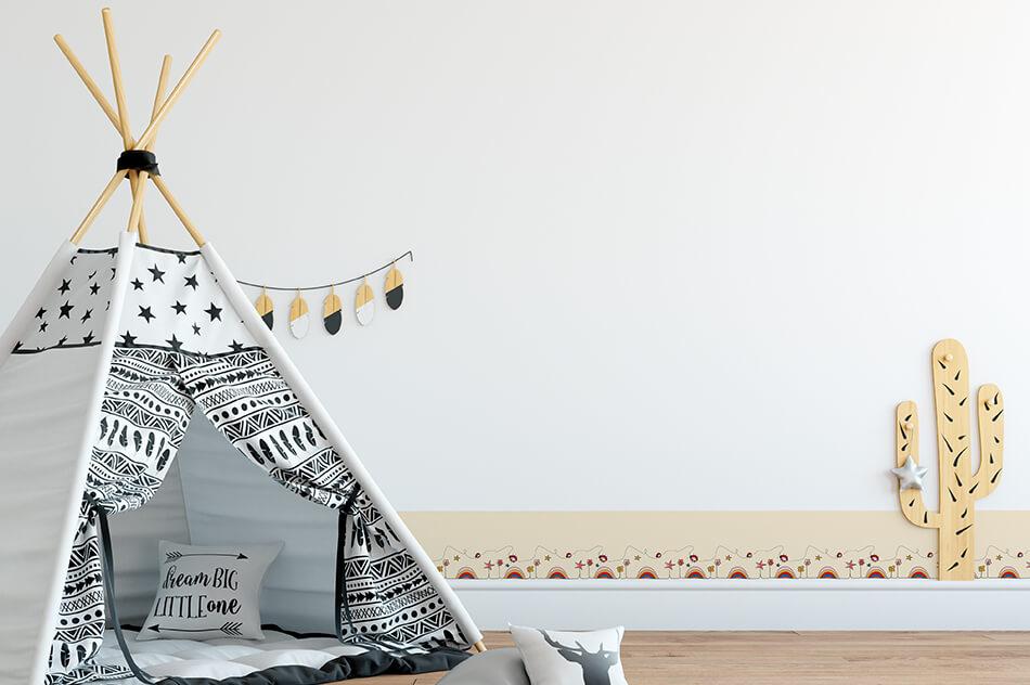 Designer Tapete - Kindertapete, Variante 5 - Kinder - Christiane Elle