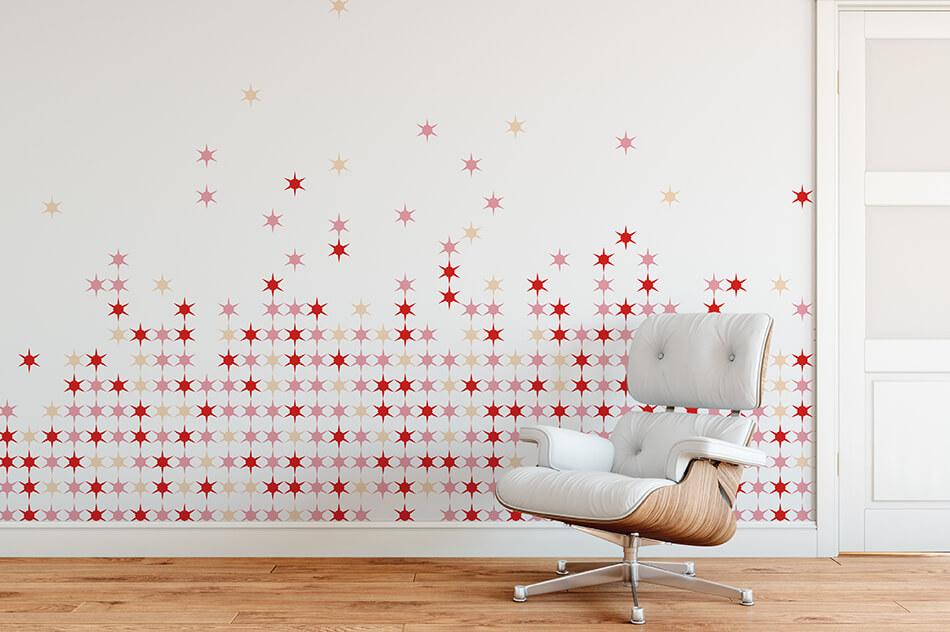 Designer Tapete - Sterne 4 - Lifestyle - Christiane Elle