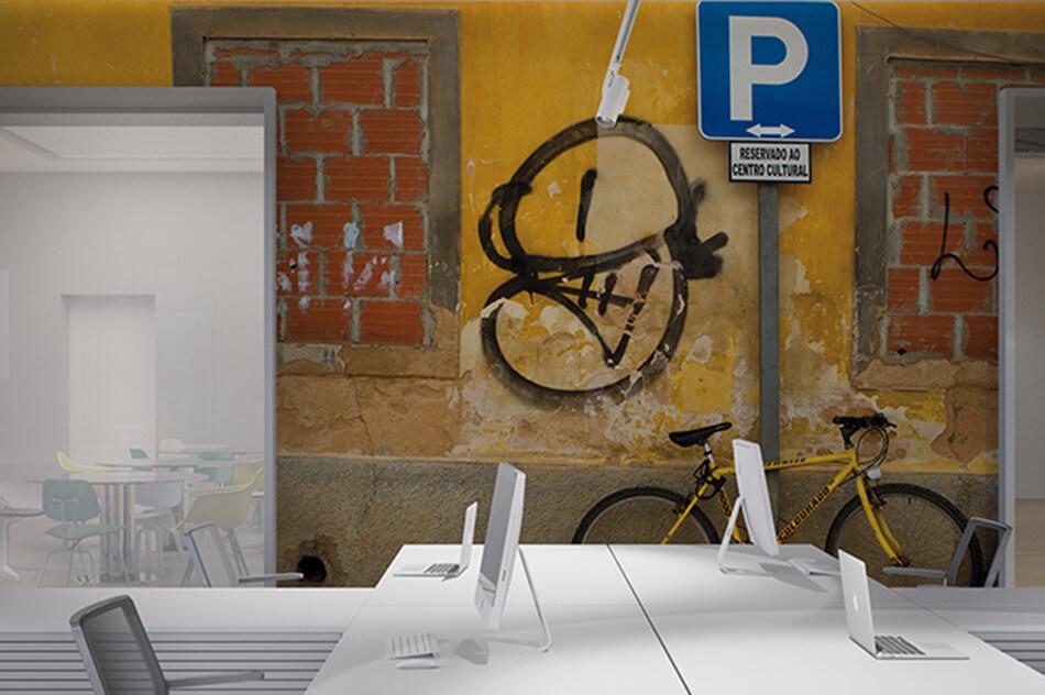 Designer Tapete - Parken erlaubt - Gaby Jacob